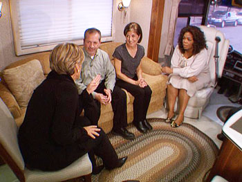 Oprah and Suze Orman talk to SBI Owners Jill and Jose